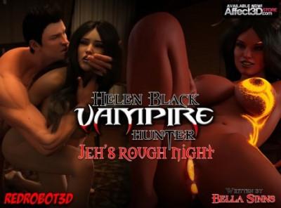 Helen Black Vampire Hunter Jeh's Rough Night