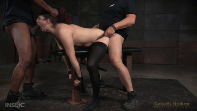 Blisteringly Fast Paced Live Show Continues As Endza Is Roughly Fucked  Hard Cock (2015)
