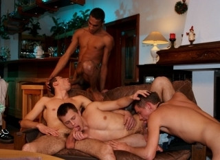 Filip Dorty, Sanches Viva, Marko Fisher and Ronny Silver