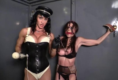 SI - Mistress Miranda invades mens central prison featuring Ashley Renee