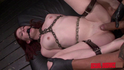 Sexualdisgrace — Emma Evins Endures Sybian Fuckings Machine & is Fucked Rough