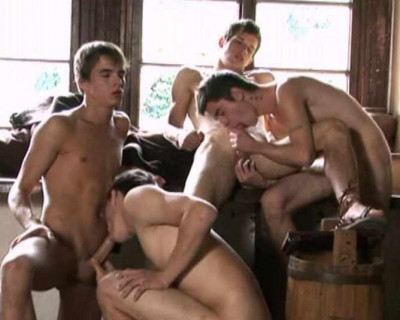 Group sex with Young men