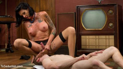Cherry Pie and Her Throbbing Dripping Hard Cock!