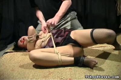 TokyoSlaves — Kikuko in Bondage