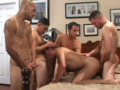 Hard Orgy & Face Full Of Cum