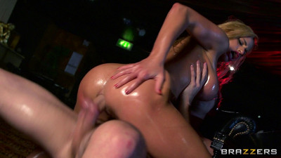 Sexy Blonde Girl Getting Her Tight Little Ass Fucked