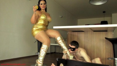 Mistress Ezada - cuckold hubby stays home