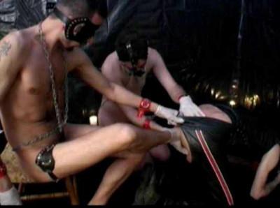 Amazing Fisting Orgy