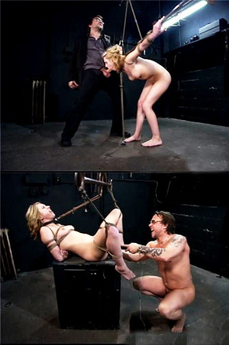 Nipple Clamps & Spanks - Fucked And Bound