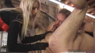 Natalie Black and her bi-slaves