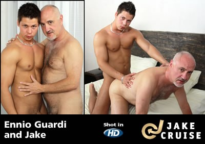 Ennio Guardi and Jake