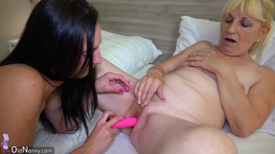 Old and mature using their dildo
