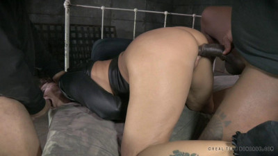 Brutal MILF DP on BBC as Syren De Mer is straight jacket sex to utter sexual destruction!