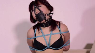 Black Panties Blue Rope