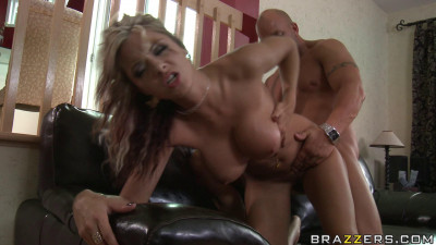 Sexy Blonde Seduces The Cable Company Employee