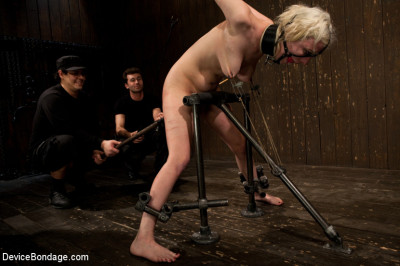 Cherry Torn Gets All Tore Up As She Gets Her Ass Whipped All To Hell