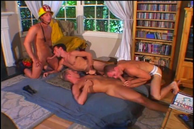 [Pacific Sun Entertainment] Brett Collins In Vintage Gay Orgy
