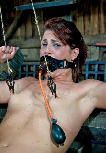Bad girl in bondage