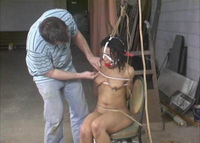 JeC and the Vigilante Prequel-Cruel Nude Bondage for JeC - Part 1