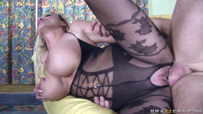 Sexy Blonde Milf With Huge Tits