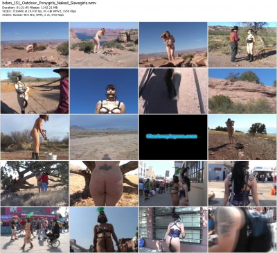 ShadowPlayers - Outdoor Ponygirls & Naked Slavegirls DVD