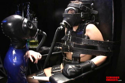 SI – First Time Bondage Chair Orgasm