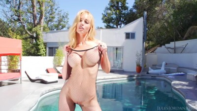 Kayden Kross Gets Her Ass Filled With Jizz / Manuel Creampies Their Asses 3