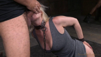 Pale Blonde Cherry Torn – Rough Fucking And Epic Deepthroat(Aug 2015)