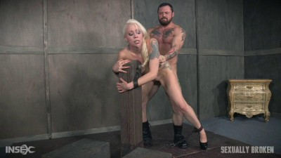 Jan 20, : Lorelei Lee is bound to the fucking post! Brutal face fucking and deep uterus banging sex!