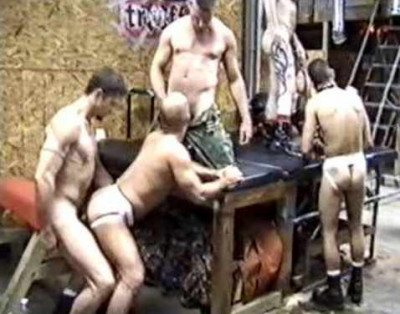 Pigs In Fist Gangbang