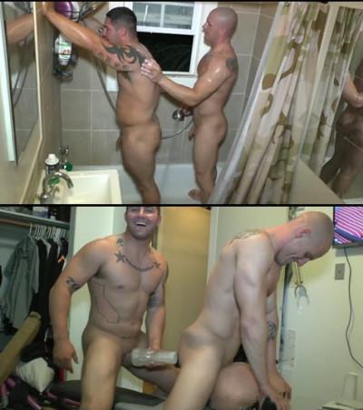 MSBuddy - Nick & Brennan Naked Wrestling