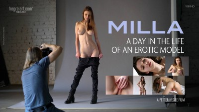 Milla - A Day In The Life Of An Erotic Model