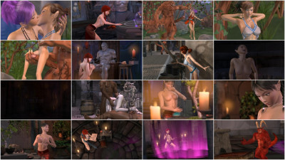 Stone Sorceress – 3d HD Video