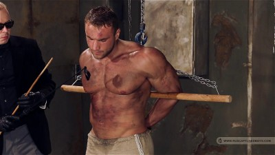 RusCapturedBoys - Bodybuilder Roman in Slavery. Final