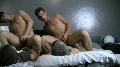 Boys Halfway House - The Graff Twins - Twins in Trouble Bareback