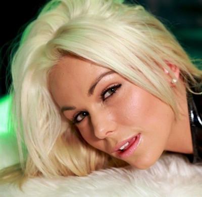Caprice Jane - Blonde In Latex