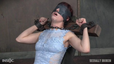 Stephie Staar Is Bound On A Vibrator, While Being Brutally Face Fucked