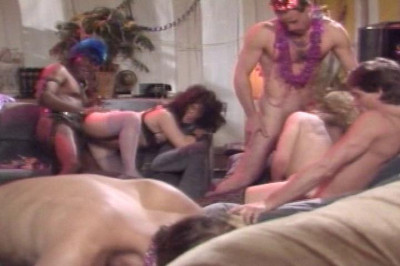 Fancy Dress Party Turns To Hardcore Orgy