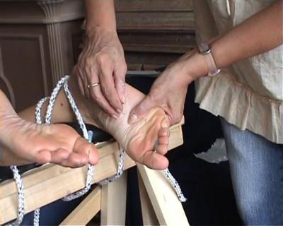 Amateur Foot Punishment and Needle Pain