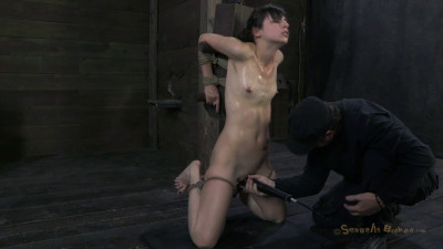 20Yr Innocent Girl Next Door Finds Out What Bondage & Deep Brutal Throat Fucking Are All About