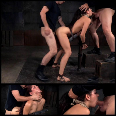 Taken From Both Ends By Hard Cock (4 Sep 2015) Sexually Broken