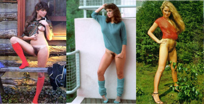 Vintage In clothes and without shorts