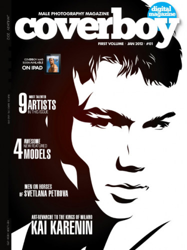 Coverboy Magazine – First Volume 2012-01