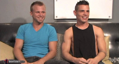 Brent Everett & Cameron Marshall. [10/2011] (Oral sex, Anal Sex, Rimming, Cumshots, Toy, Interview, Safe sex)