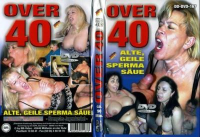 Over 40 - Alte, Geile Sperma Saue