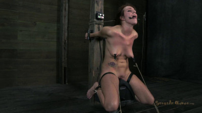 Girl next door Sexually destroyed by a Sybian Brutally skull fucked to subspace Orgasm HD