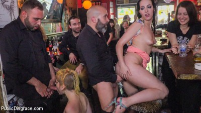 Spanish Bar Turns Into A Filthy Fuck Party – Part 2