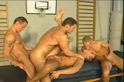 [Pacific Sun Entertainment] Guys Stuff Their Back Holes With Other's Pecker