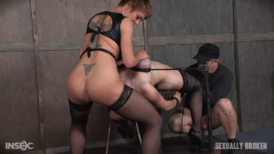 Iona Graces Big Natural Breasts Bound As She Is Throatboarded and Made to Cum! Part 1