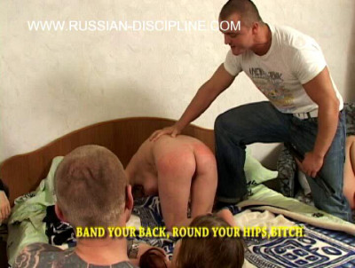 Film on Russian girls spanking, a lot of pain and bloody